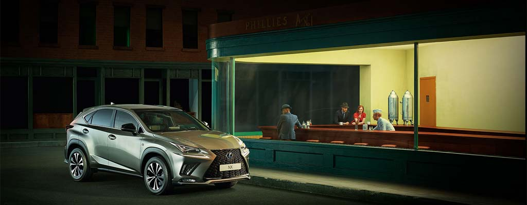 Gamma Lexus NX Hybrid