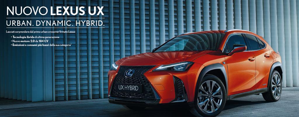 Lexus UX Hybrid Torino