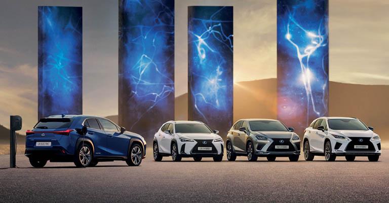 Gamma Lexus promozione a Torino