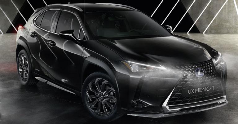 Lexus UX Hybrid Midnight Torino